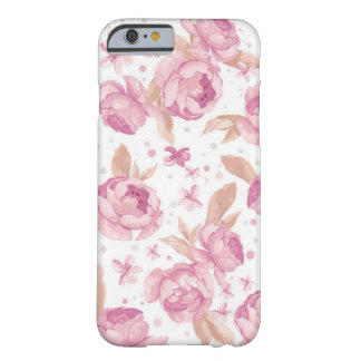 Funda de móvil con modelo romatischem de rosa