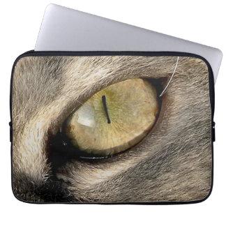 "Funda de ordenador portátil ""Cat Eye Mangas Computadora"