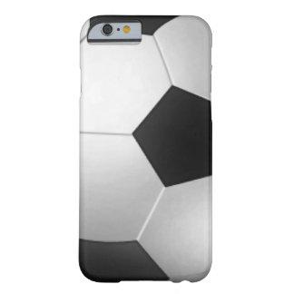 Funda del iPhone 6 del fútbol Funda De iPhone 6 Barely There