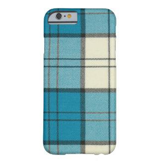 Funda-Estera del iPhone 6 del tartán de la