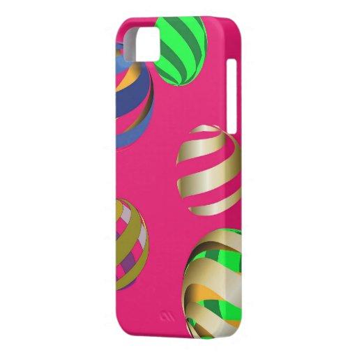 funda iPhone, pelotas multicolores