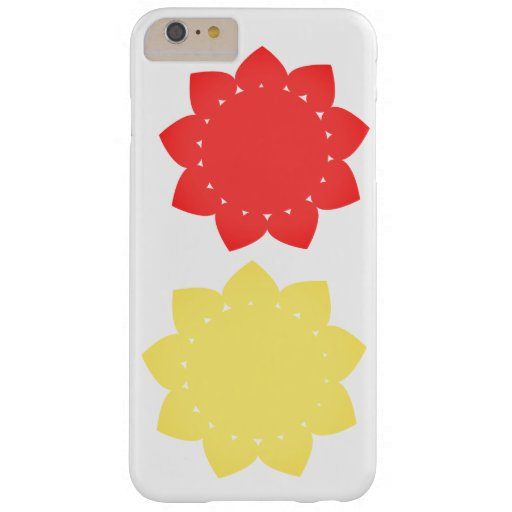 Funda iPhone sol corazones Barely There iPhone 6 Plus Case