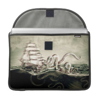 Funda kraken pirateó vintage funda macbook pro