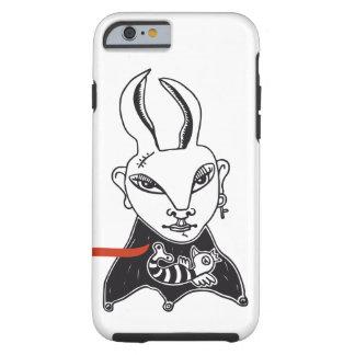 "Funda móvil ""Conejita punky"" Funda Para iPhone 6 Tough"