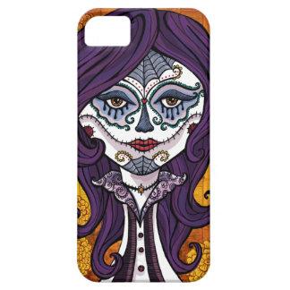 Funda-naranja de Dia de los Muertos iphone4 iPhone 5 Protector