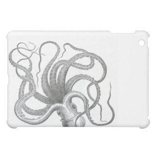 Funda náutica del iPad del pulpo del steampunk
