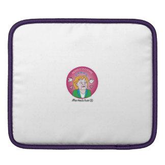 Funda para Ipad Merkelcita Plis Rosa Mangas De iPad