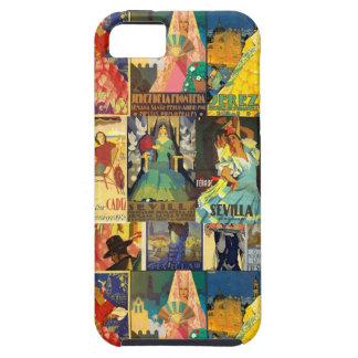 Funda para Movil Carteles Antiguos Ferias iPhone 5 Carcasas