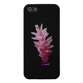 Funda protectora del iPhone del Wildflower del see iPhone 5 Coberturas