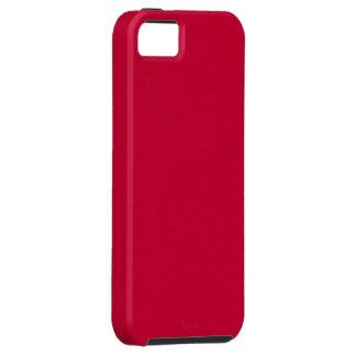 Funda roja iPhone 5 protector