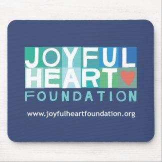 Fundación alegre Mousepad del corazón