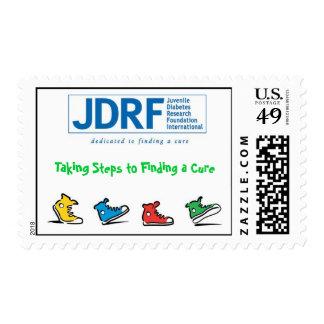 Fundación de investigación de la diabetes juvenil sellos