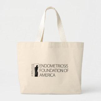 Fundación de la endometriosis de América Bolsas Lienzo