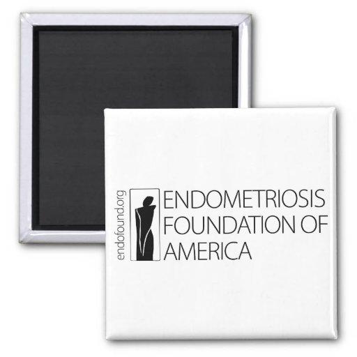 Fundación de la endometriosis de América Imán Cuadrado