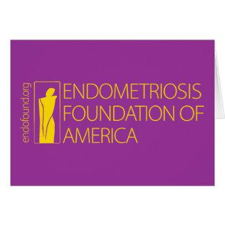 Fundación de la endometriosis de América Felicitación