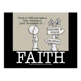 Fundación de la fe postales