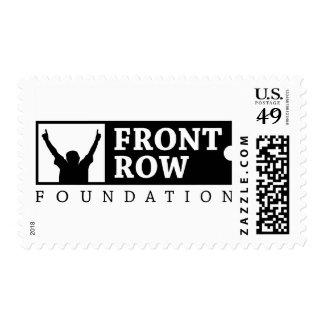 Fundación de la primera fila - logotipo sellos postales