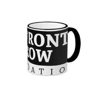 Fundación de la primera fila - logotipo taza de dos colores