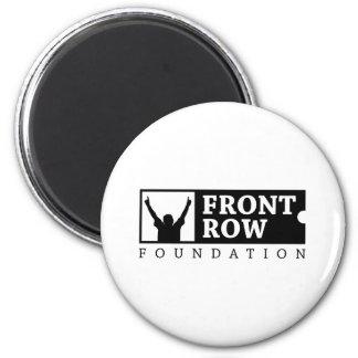 Fundación de la primera fila - logotipo tradiciona imán redondo 5 cm