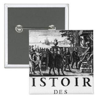 Fundación de Louis XIV, rey de Francia Pins