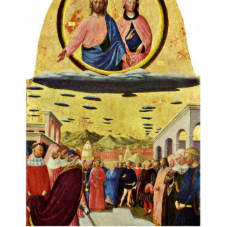 Fundación de Santa María Maggiore por Masolino (se Esculturas Fotográficas