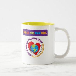 Fundación del cáncer de los niños de la taza del