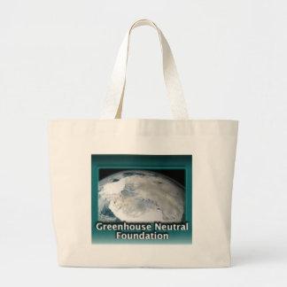 Fundación del neutral del invernadero bolsa de mano