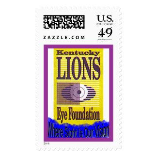 Fundación del ojo de los leones de Kentucky Estampillas