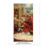 Fundación en Roma de Mathis Grunewald Gothart Postal