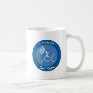 Fundacion Gaia Suna Classic White Coffee Mug
