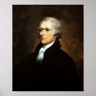 Fundador Alexander Hamilton Póster