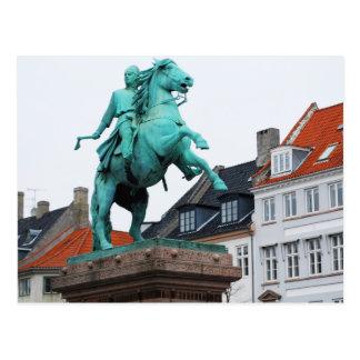 Fundador de Copenhague Absalon - Højbro Plads Postales