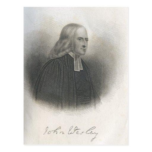 Fundador del Methodist de John Wesley Postal