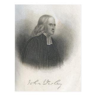 Fundador del Methodist de John Wesley Postales