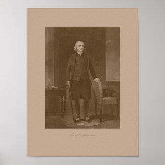 Fundador Samuel Adams Póster