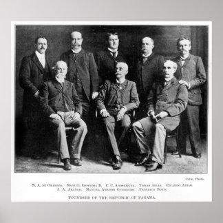 Fundadores de la República de Panamá Poster