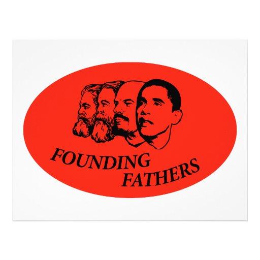 Fundadores Plantilla De Membrete