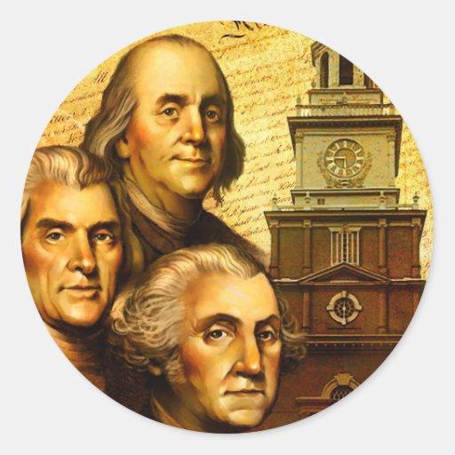 Fundadores Pegatinas