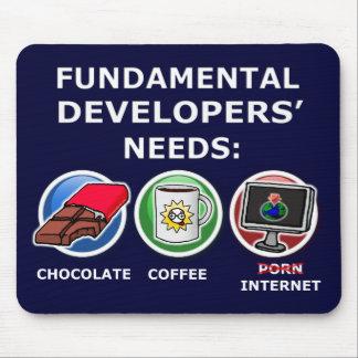 fundamental developer needs mouse pad