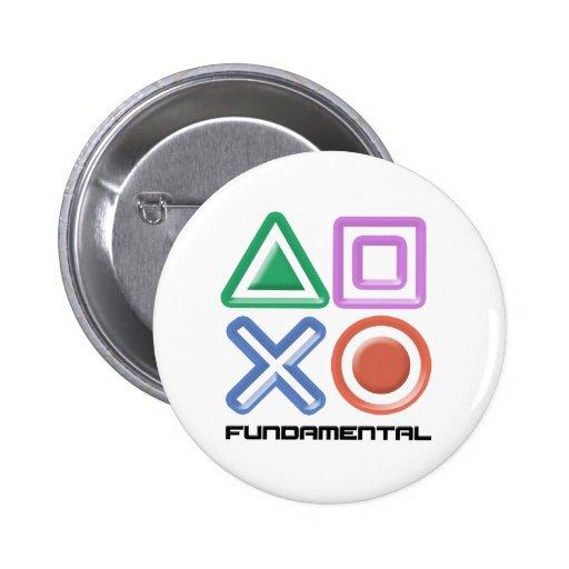 Fundamental Game Symbols Button