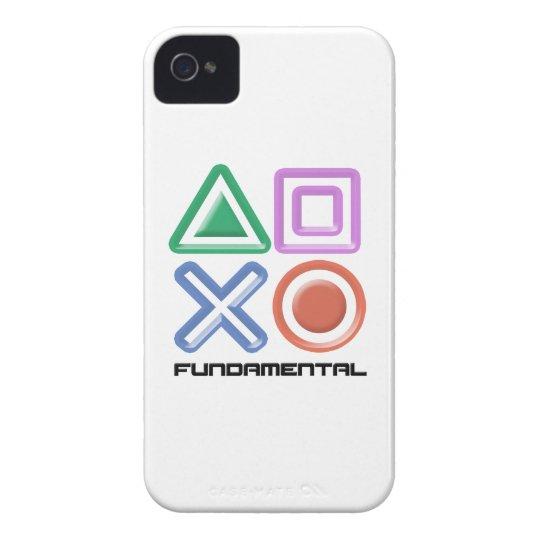 Fundamental Game Symbols Case-Mate iPhone 4 Case
