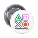 Fundamental Game Symbols Pinback Buttons