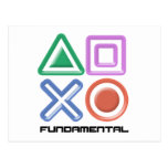 Fundamental Game Symbols Postcards