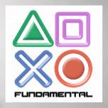Fundamental Game Symbols Poster