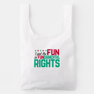 FUNdamental Rights Reusable Bag