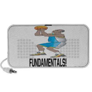 Fundamentales Laptop Altavoces