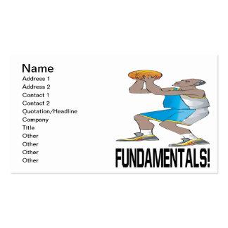 Fundamentales Tarjetas De Visita