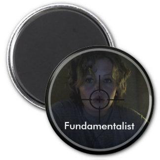 Fundamentalist 2 Inch Round Magnet
