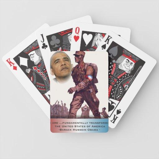 Fundamentally Transforming America Bicycle Playing Cards