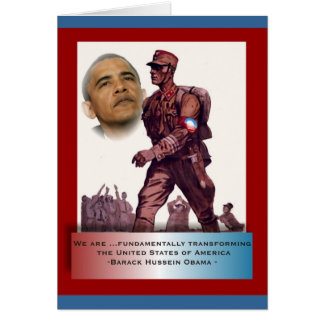 Fundamentally Transforming America Card